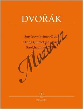 Dvořák Antonín | Smyčcový kvintet G dur op. 77 | Set partů - Noty pro smyčcový kvintet - BA9577.jpg