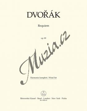 Dvořák Antonín | Requiem op. 89 - úprava pro sóla, sbor a komorní orchestr | Set partů-harmonie - Noty pro sbor - BA9582-65.jpg