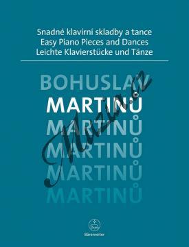 Martinů Bohuslav | Snadné klavírní skladby a tance | Noty na klavír - BA9586.jpg