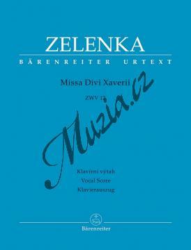Zelenka Jan Dismas   Missa Divi Xaverii ZWV 12   Klavírní výtah - Noty pro sbor - BA9594-90.jpg