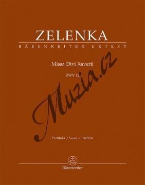 Zelenka Jan Dismas   Missa Divi Xaverii, ZWV 12   Partitura - Noty pro sbor - BA9594.jpg