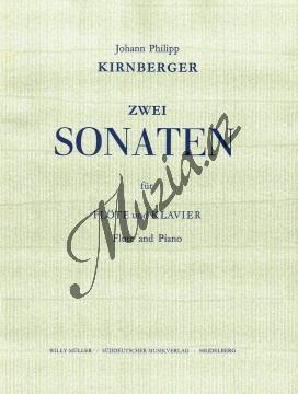 Kirnberger Johann Philipp | Zwei Sonaten G-Dur, g-moll | Provozovací partitura a party - Noty na příčnou flétnu - BASM2120.jpg