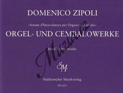 Zipoli Domenico | Orgel- und Cembalowerke, Band 1: Orgelwerke (1716) - Provozovací partitura a party | Noty na varhany - BASM2203.jpg