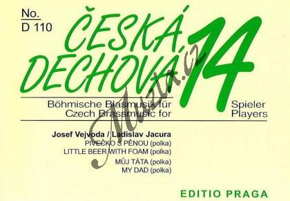 Vejvoda Josef | Pivečko s pěnou (polka) / Můj táta (polka) | Set partů a řídící hlas - Noty pro dechovou hudbu - D110.jpg