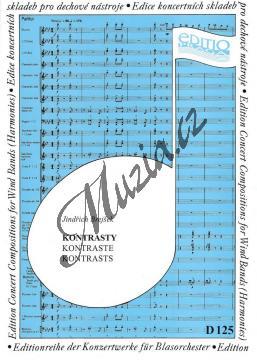 Brejšek Jindřich | Kontrasty | Partitura a party - Noty pro dechovou hudbu - D125.jpg