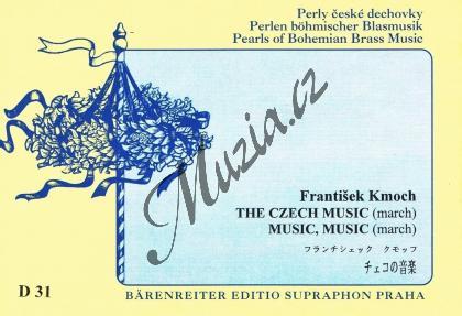 Kmoch František | Česká muzika / Muziky, muziky | Set partů a řídící hlas - Noty pro dechovou hudbu - D31.jpg