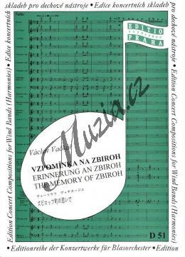Vačkář Václav | Vzpomínka na Zbiroh (serenáda) | Set partů a řídící hlas - Noty pro dechovou hudbu - D51.jpg