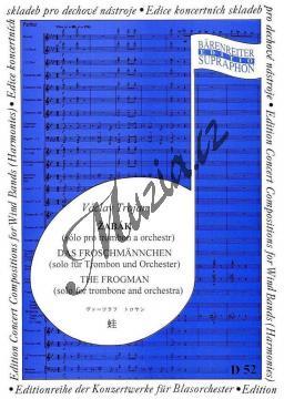 Trojan Václav | Žabák (sólo pro pozoun a orchestr) | Set partů a řídící hlas - Noty pro dechovou hudbu - D52.jpg
