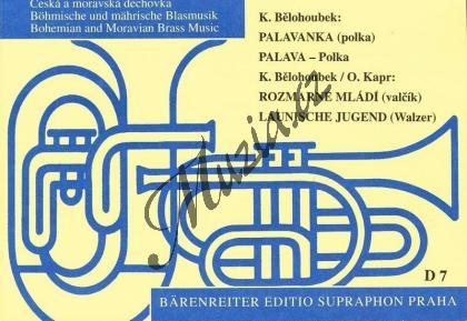 Bělohoubek Karel   Palavanka / Rozmarné mládí   Set partů a řídící hlas - Noty pro dechovou hudbu - D7.jpg