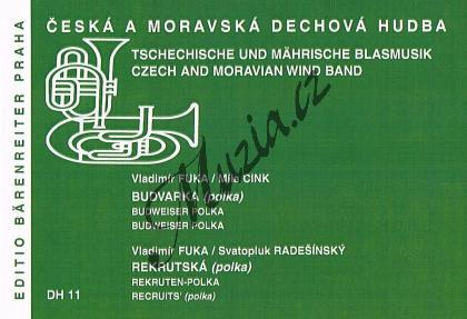 Fuka Vladimír | Budvarka / Rekrutská | Set partů a řídící hlas - Noty pro dechovou hudbu - DH11.jpg