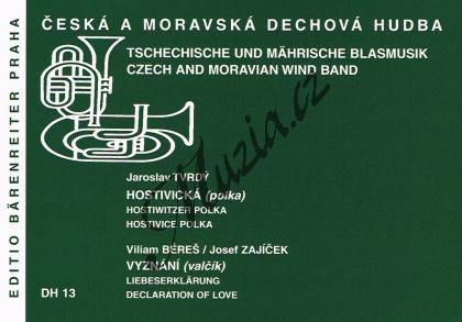 Tvrdý Jaroslav | Hostivická (polka) / Vyznání (valčík) | Set partů a řídící hlas - Noty pro dechovou hudbu - DH13.jpg