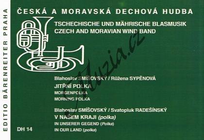 Smišovský Blahoslav | Jitřní polka / V našem kraji (polka) | Set partů a řídící hlas - Noty pro dechovou hudbu - DH14.jpg