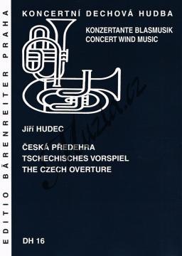 Hudec Jiří | Česká předehra | Partitura a party - Noty pro dechovou hudbu - DH16.jpg