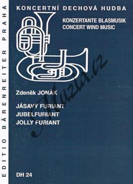 Jonák Zdeněk | Jásavý furiant | Partitura a party - Noty pro dechovou hudbu - DH24.jpg
