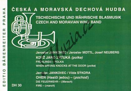 Jankovec Jaroslav | Když jaro zaťuká / Oheň (Hasiči jedou) | Set partů a řídící hlas - Noty pro dechovou hudbu - DH30.jpg