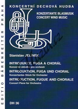 Jelínek Stanislav | Introdukce, fuga a chorál | Partitura a party - Noty pro dechovou hudbu - DH36.jpg