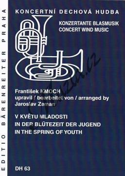 Kmoch František | V květu mladosti | Partitura, set partů a řídící hlas - Noty pro dechovou hudbu - DH63.jpg
