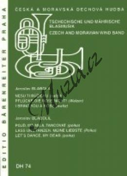 Blabolil Jaroslav | Nesu ti růžičku / Pojď, má milá, tancovat | Set partů a řídící hlas - Noty pro dechovou hudbu - DH74.jpg