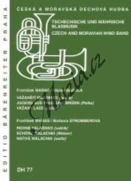 Maňas František | Vážanští mládenci / Rodné Valašsko | Set partů a řídící hlas - Noty pro dechovou hudbu - DH77.jpg