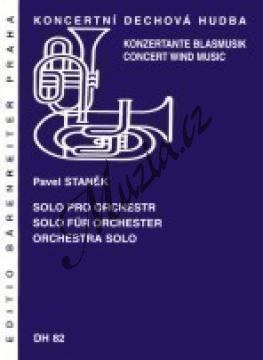 Staněk Pavel | Solo pro orchestr | Partitura, set partů a řídící hlas - Noty pro dechovou hudbu - DH82.jpg