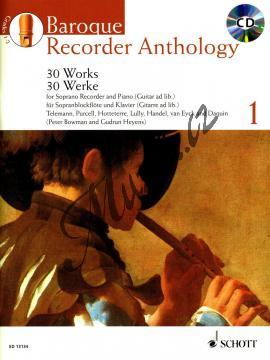 Album | Baroque Recorder Anthology Vol. 1 - (+CD) | Noty na zobcovou flétnu - ED13134.jpg