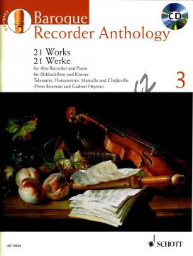 Album | Baroque Recorder Anthology Vol. 3 - Partitura a party (+CD) | Noty na zobcovou flétnu - ED13324.jpg
