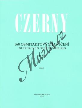 Czerny Carl   160 osmitaktových cvičení op. 821   Noty na klavír - H108.jpg