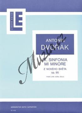 Dvořák Antonín   Symfonie č. 9 e moll op. 95  (úprava pro klavír na dvě ruce)   Noty na klavír - H1110.jpg