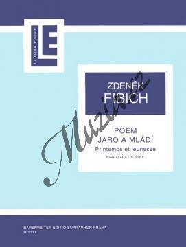 Fibich Zdeněk | Poem - Jaro a mládí | Noty na klavír - H1111.jpg