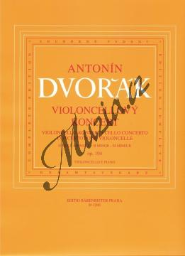 Dvořák Antonín   Koncert pro violoncello a orchestr h moll op. 104   Klavírní výtah - Noty na violoncello - H1200.jpg