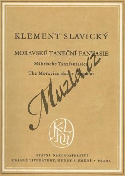 Slavický Klement   Moravské taneční fantazie   Kapesní partitura - Noty pro orchestr - H1211.jpg