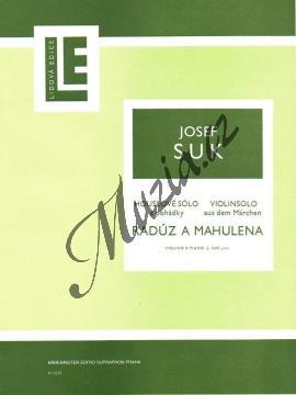 Suk Josef | Houslové sólo ze scénické hudby k Zeyerově hře  Radúz a Mahulena | Partitura a party - Noty na housle - H1231-2.jpg