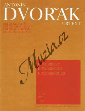 Dvořák Antonín | Humoresky opus 101 | Noty na klavír - H1274.jpg