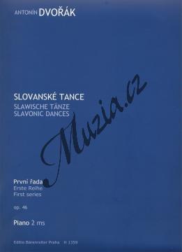 Dvořák Antonín   Slovanské tance op. 46 (1. řada)   Klavírní výtah - Noty na klavír - H1359.jpg