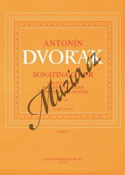 Dvořák Antonín | Sonatina G dur op. 100 | Partitura a party - Noty na housle - H1364.jpg