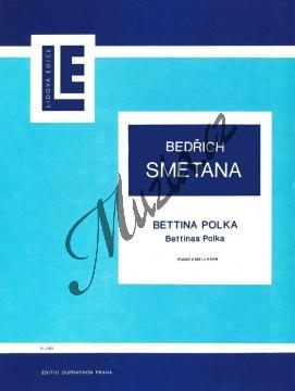 Smetana Bedřich   Bettina polka   Noty na klavír - H1383.jpg