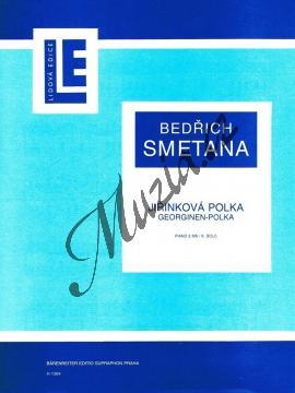 Smetana Bedřich   Jiřinková polka   Noty na klavír - H1384.jpg