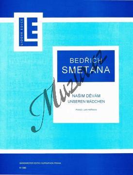 Smetana Bedřich   Našim děvám   Noty na klavír - H1386.jpg