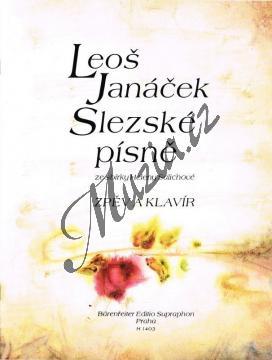 Janáček Leoš | Slezské písně | Noty pro sólový zpěv - H1403.jpg
