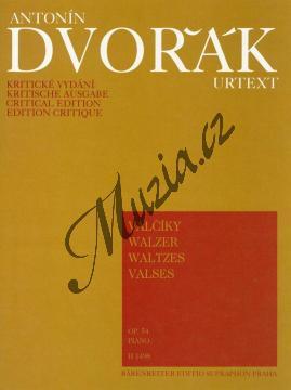 Dvořák Antonín | Valčíky op. 54 | Noty na klavír - H1498.jpg