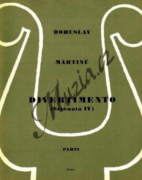 Martinů Bohuslav | Divertimento (Serenáda IV pro dva hoboje, klavír a smyčce) | Set partů - Noty pro orchestr - H1503.jpg