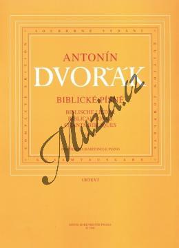 Dvořák Antonín | Biblické písně op. 99 (pro nižší hlas a klavír) | Noty pro sólový zpěv - H1560.jpg