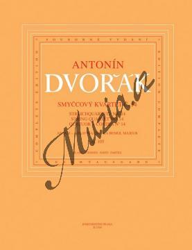 Dvořák Antonín | Smyčcový kvartet č. 14 As dur op. 105 | Set partů - Noty pro smyčcový kvartet - H1569.jpg