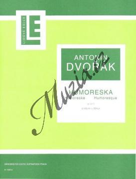 Dvořák Antonín | Humoreska G dur op. 101 č. 7 | Noty na housle - H1591a.jpg