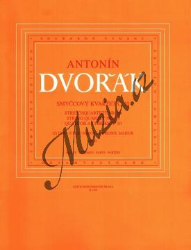 Dvořák Antonín   Smyčcový kvartet č. 10 Es dur op. 51   Set partů - Noty pro smyčcový kvartet - H1595.jpg