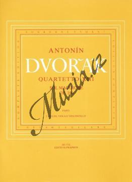 Dvořák Antonín   Smyčcový kvartet č. 13 G dur op. 106   Set partů - Noty pro smyčcový kvartet - H1732.jpg