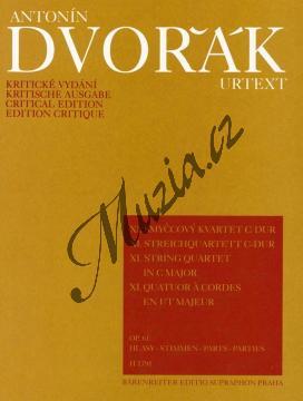 Dvořák Antonín | Smyčcový kvartet č. 11 C dur op. 61 | Set partů - Noty pro smyčcový kvartet - H1791.jpg