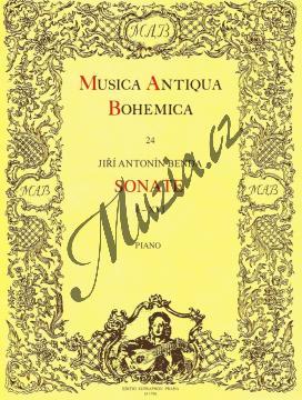 Benda Jiří Antonín   Sonáty pro klavír (1-16)   Noty na klavír - H1796.jpg