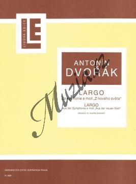 Dvořák Antonín | Largo ze Symfonie č. 9 e moll  Z Nového světa | Noty na varhany - H1809.jpg