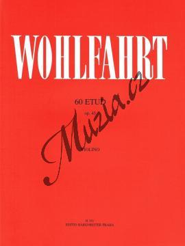 Wohlfahrt Franz   60 etud op. 45   Noty na housle - H181.jpg